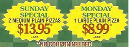 coupon specials