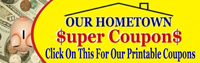 Our HomeTown Super Coupons.com